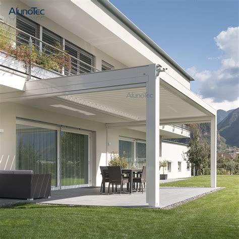 sun shading motorised retractable pergola roof  house buy shutter pergola shade pergola