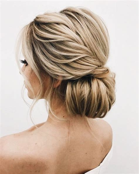 Low Updo Hairstyles by So Twisted Low Bun Updo Hair Wedding