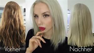 Grau Silber Haare : graue haare mit olaplex von dunkelblond zu silber blond youtube ~ Frokenaadalensverden.com Haus und Dekorationen