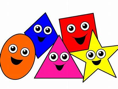 Shapes Clipart Matching Learning Kindergarten Cliparts Clipground