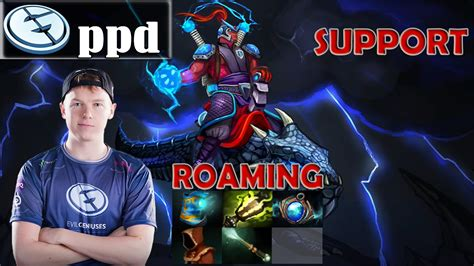 ppd disruptor roaming pro gameplay support dota 2 mmr youtube