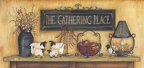 gathering place fine art print  mary ann june