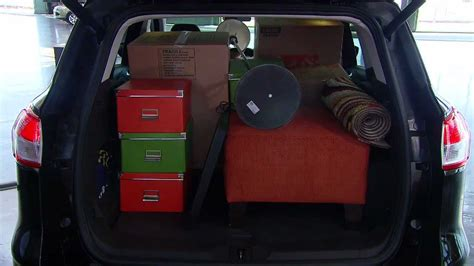 2013 Ford Escape Cargo Capacity   YouTube