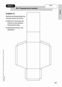 Prismen Berechnen 8 Klasse : arbeitsbl tter sekundarstufe i lehrerb ro ~ Themetempest.com Abrechnung