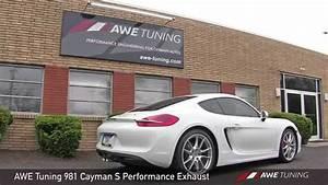 Porsche Cayman Tuning Teile : awe tuning porsche 981 cayman s performance exhaust ~ Jslefanu.com Haus und Dekorationen