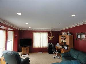Recessed lighting for a living room specs price