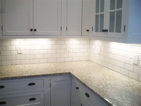 installing subway tile backsplash in kitchen how to choose the best subway tile sizes to get the side of your home interior homesfeed