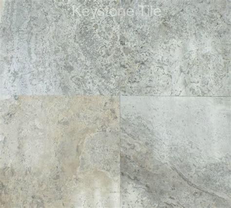 silver travertine houston polished