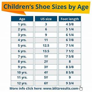 Toddler Foot Growth Chart ᐅ Kids Shoe Sizes Conversion Charts Size By Age How To