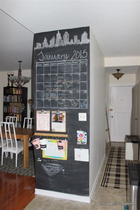 kitchen chalkboard wall ideas best 25 chalkboard command center ideas on hub parent command and family