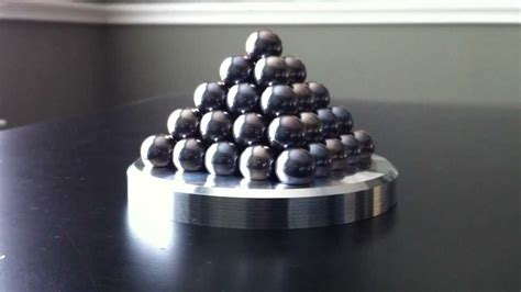 simple milling machine project ball bearing pyramid youtube
