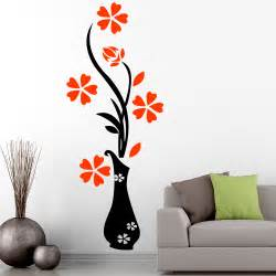 Floral wall sticker clipart best