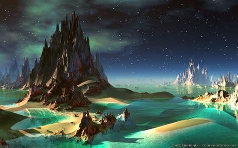 landscape backgrounds alien landscapes  great