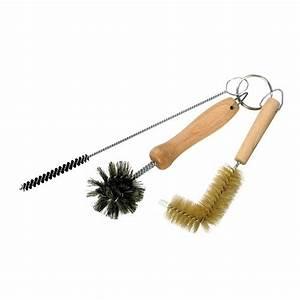 Brosse Pour Nettoyer Radiateur : set de 3 brosses goupillons pour bondes de lavabos ~ Premium-room.com Idées de Décoration