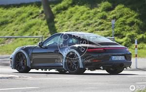 Porsche 992 Carrera 4S Mule 27 April 2016 Autogespot