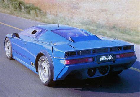 Bugatti EB110 Prototype 1990 wallpapers
