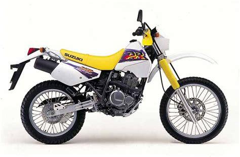 1991 Suzuki Dr350 by Suzuki Dr350 1992 1999 Review Mcn