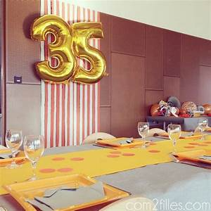 Deco Table Anniversaire 60 Ans : 25 best ideas about anniversaire 35 ans on pinterest 60 ~ Dailycaller-alerts.com Idées de Décoration