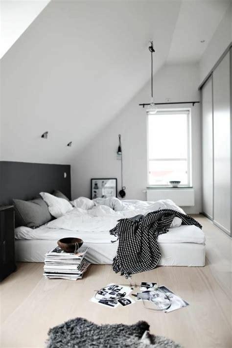 chambre lit blanc deco chambre parentale blanche
