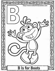 abc color page - cartoons alphabets coloring sheets coloring pages dora