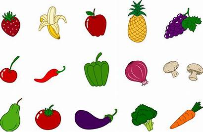 Clip Vegetable Clipart Vegetables Fruits Clipartion