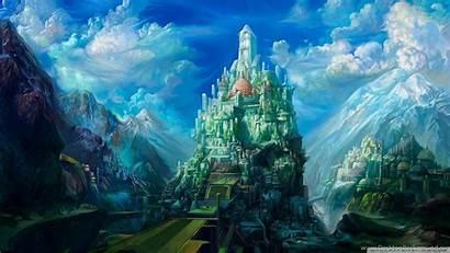 Sky Castle Wallpapers Artwork