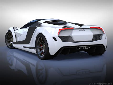Names we all know, brands we all recognise. EXCLUSIVE CARS: Audi R10 Hypercar Concept