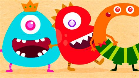 Hungry Alphabet 2  Learn Abc (a To Z) With Funny Monsters Animation  App For Kids Youtube