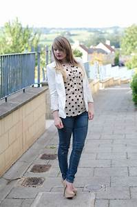 Moto Skinny Jeans With A Crisp White Blazer Outfit   Raindrops of Sapphire