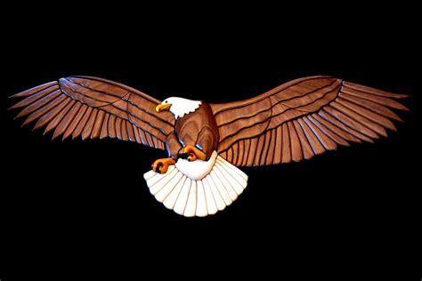 intarsia eagle  skleist  lumberjockscom