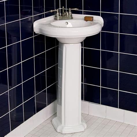 Gerbera Corner Pedestal Sink by 1000 Ideas About Pedestal Sink Bathroom On