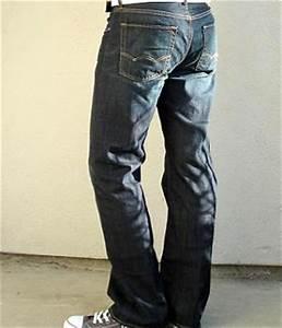 American Eagle Dark Blue Boot Cut Jeans - Menu0026#39;s Fashion For Less