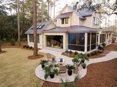 Backyard House - pictures of the hgtv smart home 2018 backyard room