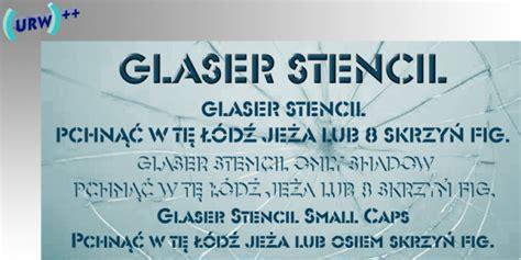 stencil fonts stencil font generator
