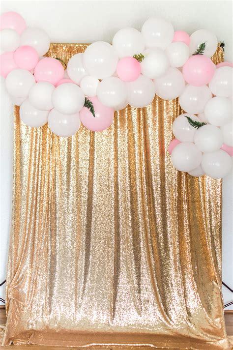 easiest diy balloon garland tutorial  hosting home
