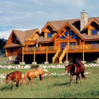 ranch house     horses  ranch house plans log homes ranch style homes