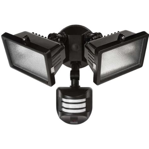 globe electric 79126 300w 2 light halogen outdoor security