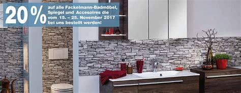 Rabattaktion Auf Alle Fackelmann-Badmöbel