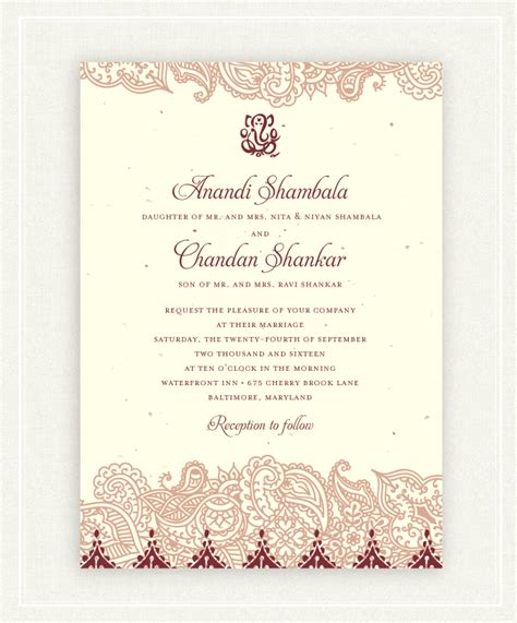 15 Colorful Indian Wedding Invitations 1 MY CARDS
