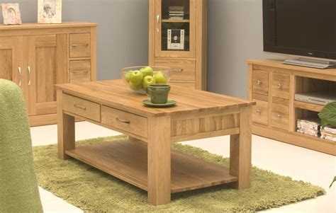 oak livingroom furniture conran solid oak living room lounge furniture four drawer storage coffee table ebay