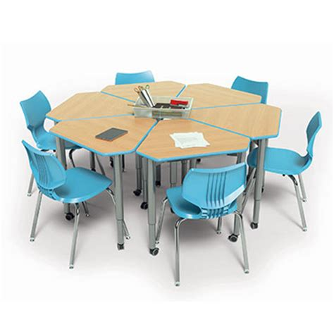 uxl half top table classrooms tables smith system