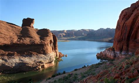 Lake Powell View Rv Boat Storage by Bullfrog Ticaboo Lake Powell Bryce Country
