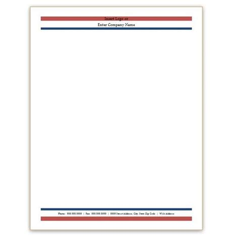 Free Resume Letterhead Templates by Free Professional Letterhead Templates For Trucking Six Free Letterhead Templates For