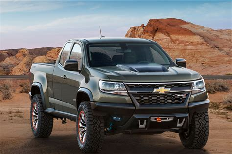 Chevrolet Colorado Zh2  The First Us Military Fuel Cell