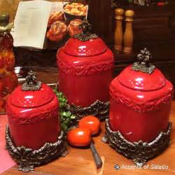 Tuscan Kitchen Canisters