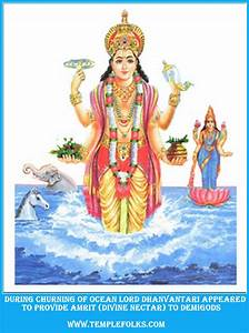 Story of Dhanvantari - Ayurveda God