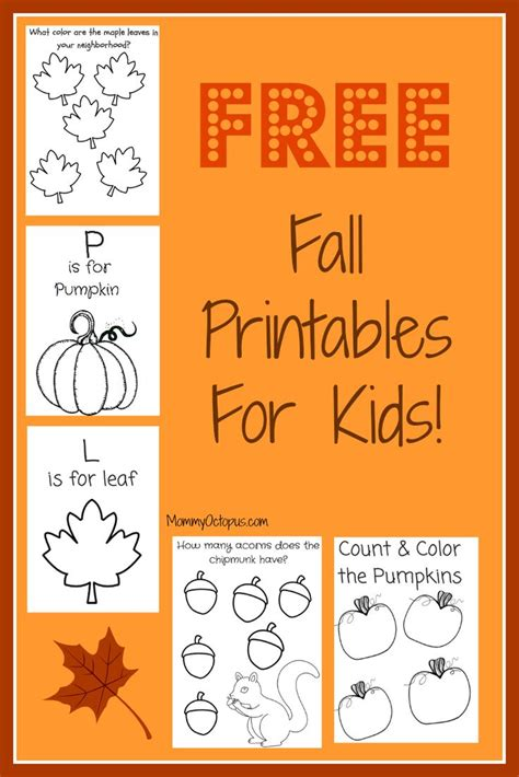 free online learning for preschoolers free fall printable activity sheets thanksgiving 844