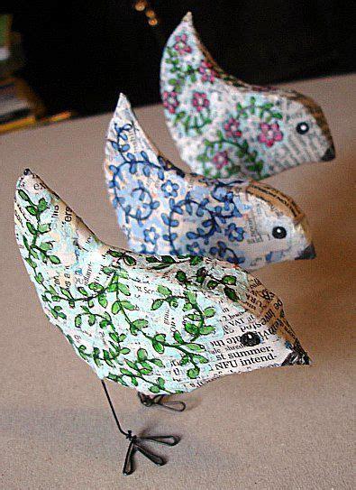 paper bird mache httplometscom