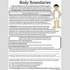 Body Boundaries By Empowered By Them  Teachers Pay Teachers