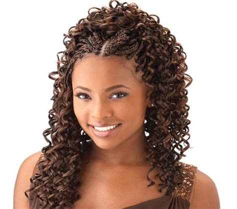 Cornrows With Weave Hairstyles by Cornrow With Curly Weave Curly Braids For Your Hair